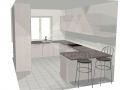 Šviesi ir talpi virtuvė 1