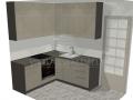 Standartinės virtuvės projektas 3