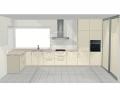 Virtuvės baldų projektas 1