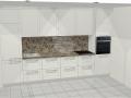 Virtuvės baldų projektas Deimantei