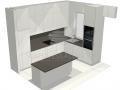 Virtuvės baldų projektas 3-1