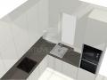 Virtuvės baldų projektas 3-3