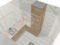 Virtuvės baldų projektas Rūta 2