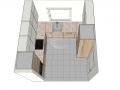 Virtuvės baldų projektas Rūta 3