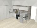 """Virtuvės baldų projektas """"Vaidotas"""""""