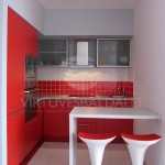 Raudona virtuve 1